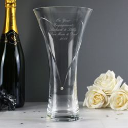 Swarovski Diamond Cut Heart Vase Thumbnail
